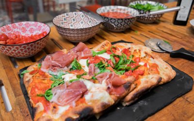 Pizza da asporto al MUU di Legnano