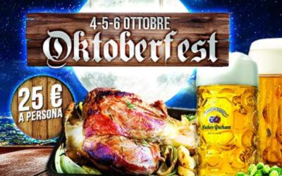Il 4, 5 e 6 Ottobre torna l'Oktoberfest al MUU di Legnano