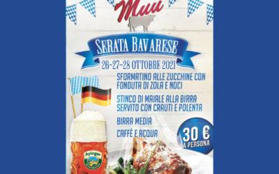 Serate Bavaresi – Dal 26 al 28 Ottobre 2021